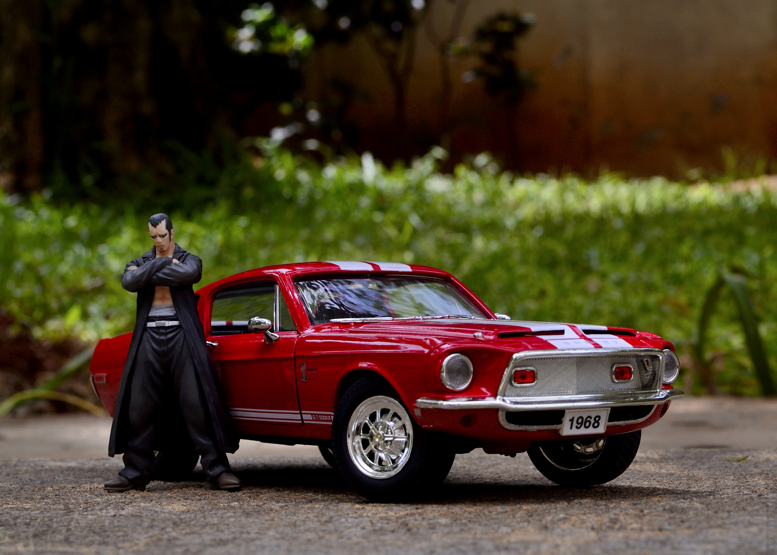 Diecast Car Photography With 1968 Shelby Gt500 Mesaran